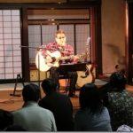 吉川忠英のギターの調べを貞松院で聞いた