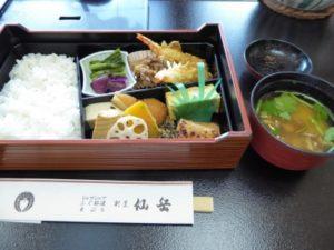 仙岳の弁当、松